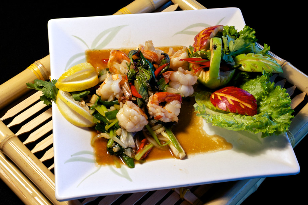 Spicy Seafood and Green Curry Medley
